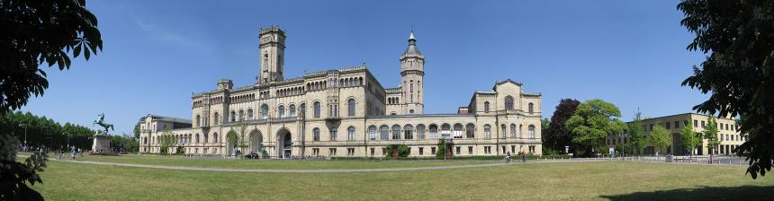 Wide shot of Leibniz University